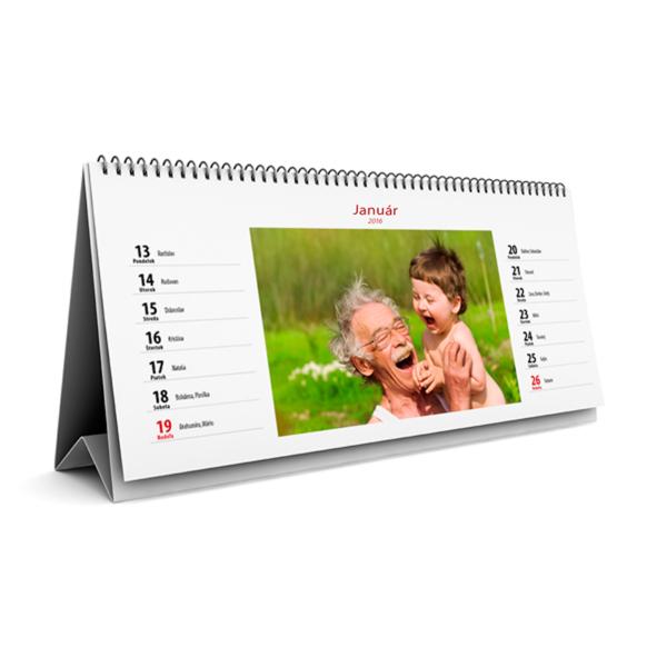 Stolový kalendár dvojtýždňový
